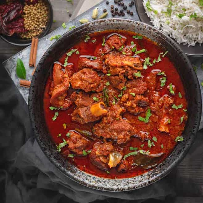 Hot & Sour Lamb Vindaloo (16 oz.)