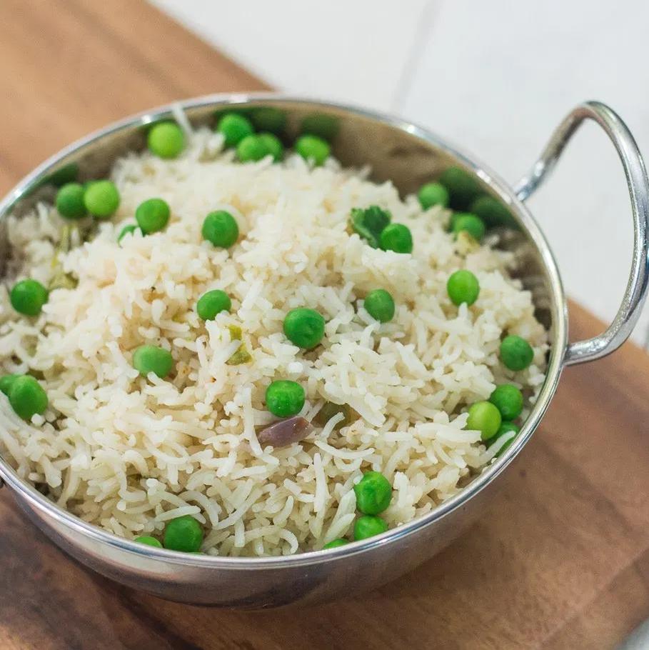 Peas Pulao Basmati Rice