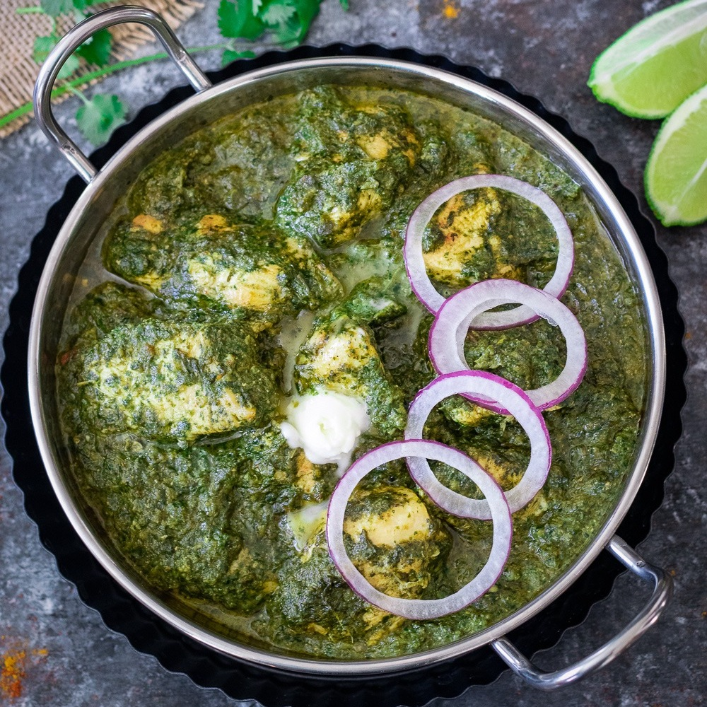 Punjab da Puttar Chicken Saag (16 oz.)
